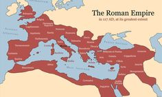 Rome and it's Empire - Decline and Fall: Roman Empire map Roman History, European History, World History, American History, British History, Ancient Rome, Ancient History, Ancient Aliens, Ancient Greece