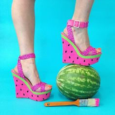 made this...Watermelon Wedges #PSIMADETHIS More