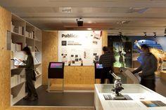 Interactive Paleontology Museum by Marc Ayala, via Behance
