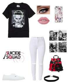 """""""Who's excited for the movie?"""" by geekystyler ❤ liked on Polyvore featuring Vans, Lime Crime and Miss Selfridge"""
