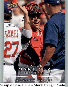 2008 Upper Deck First (1st) Edition 103 Victor Martinez - Cleveland Indians (Baseball Cards) ** This is an Amazon Affiliate link. Click image for more details.