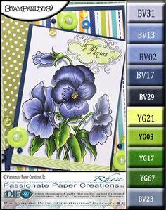 Passionate Paper Creations: Pansy's