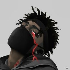 Stream sl by digby. Dope Cartoon Art, Dope Cartoons, Trill Art, Black Anime Characters, Rapper Art, Supreme Wallpaper, Dope Wallpapers, Cartoon Wallpaper, Lit Wallpaper