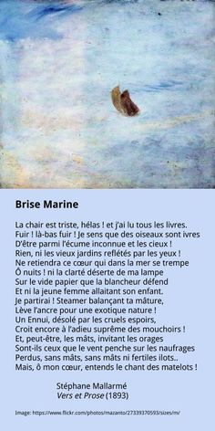 Stéphane Mallarmé –