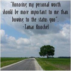 So Long Insecurity! | Tamar Knochel