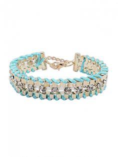 National Joker Woven Diamond Bracelet