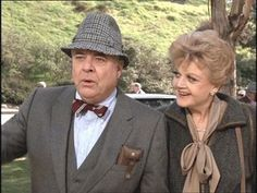 """Murder, She Wrote"", William Windom and Angela Landsbury"