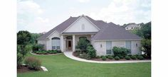 Cottage House Plan with 3029 Square Feet and 4 Bedrooms from Dream Home Source | House Plan Code DHSW36782