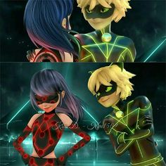 Chat hardly changed, but Ladybug is soooooooooo pretty. Chat hardly changed, but Ladybug is soooooooooo pretty.