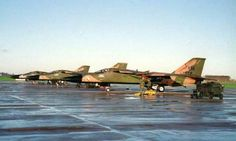 F-111E leaving RAF Upper Heyford, UK. These are last 3 to go.