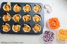 Looking for easy Breakfast ideas? Breakfast egg muffins recipe. This super easy egg muffin cups can be made quickly any day of the week. These healthy egg muffins are delicious.