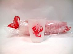 Crawfish frost flex cups from Party Cup Express