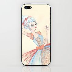 Marie Antoinette iPhone & iPod Skin by carotoki art and love - $15.00