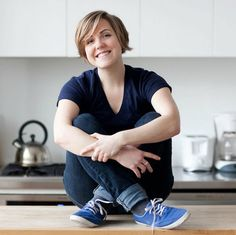 I would make her my lesbian lover. Hanna Hart from My Drunk Kitchen. By far the sexiest drunken lesbian chef I've ever seen ;)