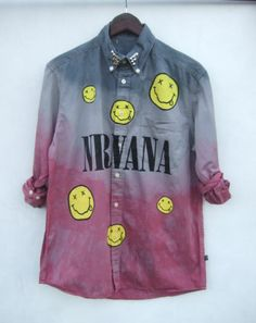 Dip Tie Dye Ombre Galaxy Astral Nirvana Shirt Dress Top Grunge Blogger