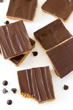 5 Ingredient No Bake Peanut Butter Chocolate Bars.
