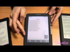 Pocket: eReaders con pantalla de tinta electrónica y luz