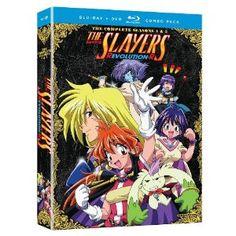 Slayers: Season 4 Revolution and Season 5 Evolution-R Blu-ray + DVD