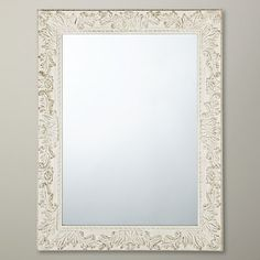 Buy John Lewis Loire Mirror, Cream, 68 x 88cm Online at johnlewis.com