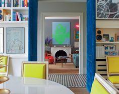 cool upholstered door. have a plain hollow door - get linen, battening and furniture tacks or moldings...have fun