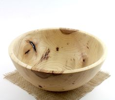 Pecan Bowl Wooden Pecan   by Wood Expressions