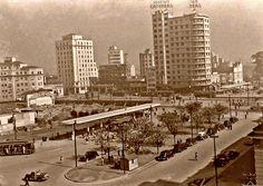 1949 - Praça João Mendes - Construção do Fórum João Mendes