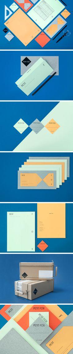 Brand Identity for Petit Fou by Daniela Gilsdorf