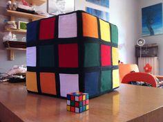Pouff cubo rubrick