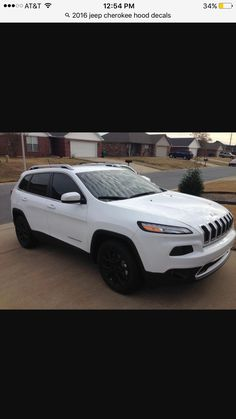 2016 jeep Cherokee matte black rims Black Rims, Matte Black, Jeep Cherokee 2017, 2016 Jeep, Jeep Life, My Ride, Dream Cars, Trucks, Metal