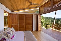 Exotic Wooden House Exhaling Life and Energy in Costa Rica