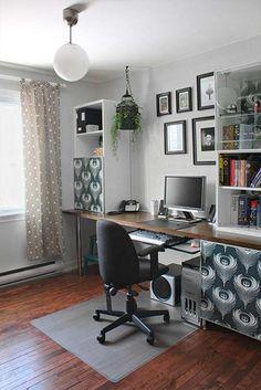 oficina : Inspiradora Oficina en Casa