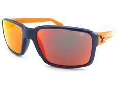 87652a3b133 Cebe DUDE Medium Fit Sunglasses Shiny Blue Orange   Red Mirror CAT.3 CBDUDE2