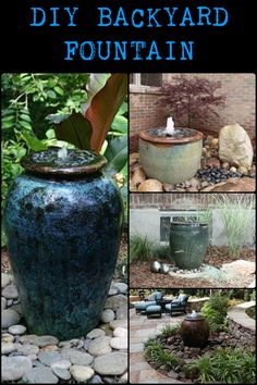 This Simple Water Feature Gives a Great Effect Without a Lot of Physical Labor