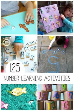 125 Activities for Learning Numbers