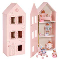Maison de poupées House - Jouet Barrutoys Petite Maman - Place des Gônes
