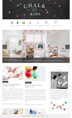 81 Best Bluchic Themes Showcase Images Wordpress Template
