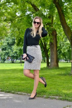 Style Cookbook by Simone: {outfit} pencil skirt www.stylecookbook.cz