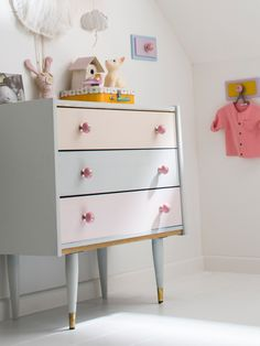 Discover more amazing case goods with creative design for your kids' room. Find more at CIRCU. Commode Rose, Deco Rose, Dresser As Nightstand, Luxury Decor, Decoration, Kids Bedroom, Bedroom Ideas, Creative Design, Bookcase