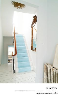 Kleur inspiratie | aqua | villa d'Esta | interieur en wonen