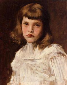 Portrait of Dorothy, 1901, William Merritt Chase