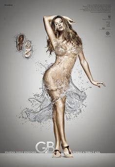 water dress...good advert