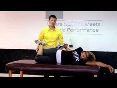 Effective Hip Flexor Stretch: World's Best IT Band Stretch by Dr. Geoffrey Alan ...