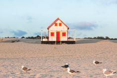 Série - casa de pescador, em Costa da Caparica, Portugal