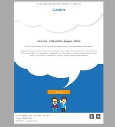 Comparte tu pasión por el IT con las plantillas newsletter de Mailify.