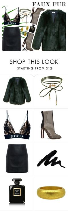 """""""pels"""" by vandkant ❤ liked on Polyvore featuring THP, Accessorize, Alexander Wang, adidas, McQ by Alexander McQueen and Chanel"""