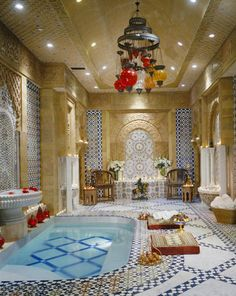 YOU KNOW YOUVE MADE IT when you can have a turkish bath in your own home.