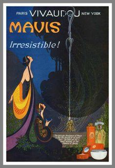 Mavis Vivaudou advertisement, 1920s