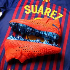 Football Uniforms, Football Shoes, Barcelona Football, Fc Barcelona, Best Soccer Shoes, Leonel Messi, Messi 10, Soccer Cleats, Sport Wear