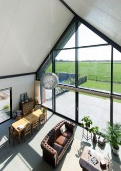 houses : Lofthome UK Ltd Modern Cabin Interior, Modern Barn House, Modern House Design, Loft House, House Roof, Bungalow Renovation, Bungalow Homes, Build Your Own House, Shed Homes