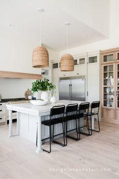 Love this designer kitchen. #EuropeanOrganicModern